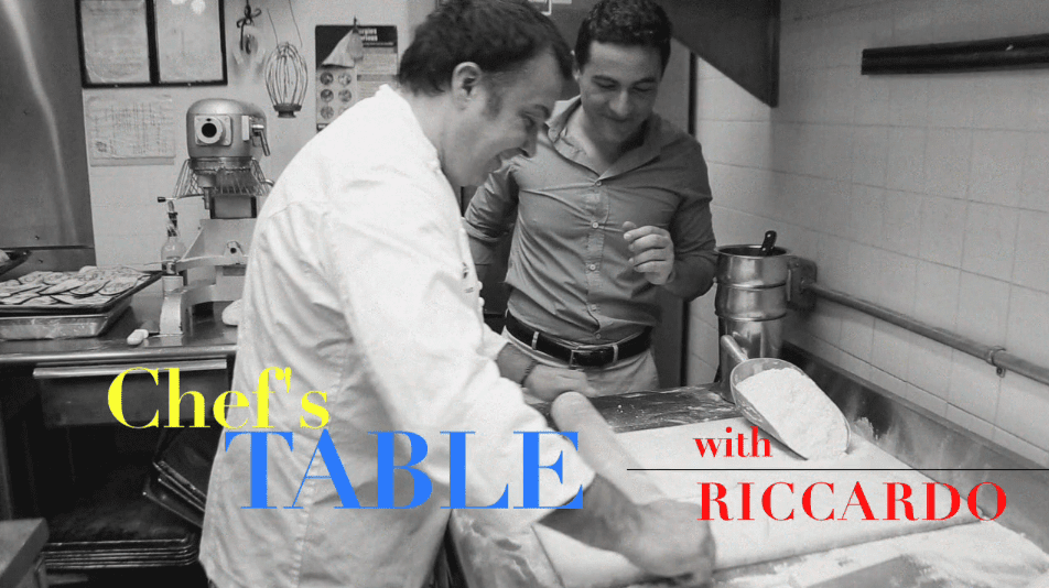 CHEF'S TABLE with RICCARDO: Neapolitan Cuisine (Part 1)
