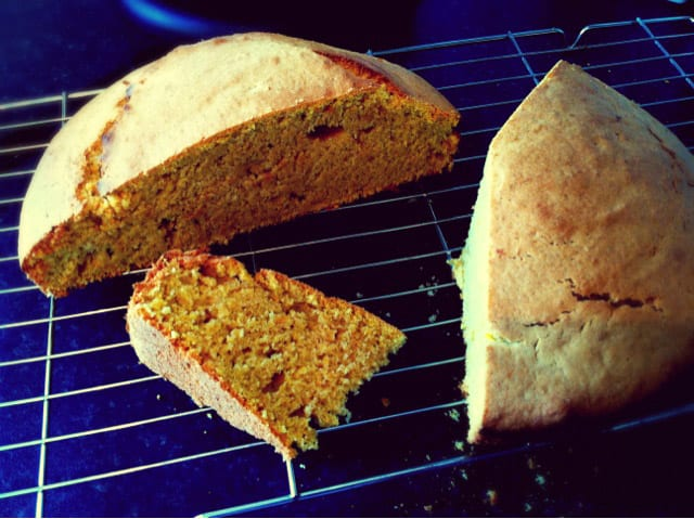 Butternut Squash and Cinnamon Loaf