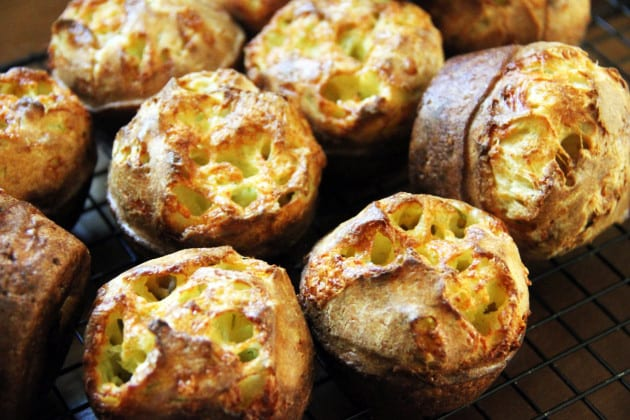 Cheesy Dill Popovers