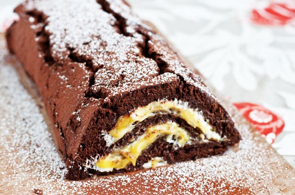 Chocolate Passion Fruit Roll