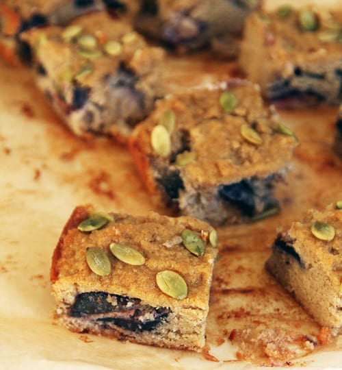 Fig Blondies