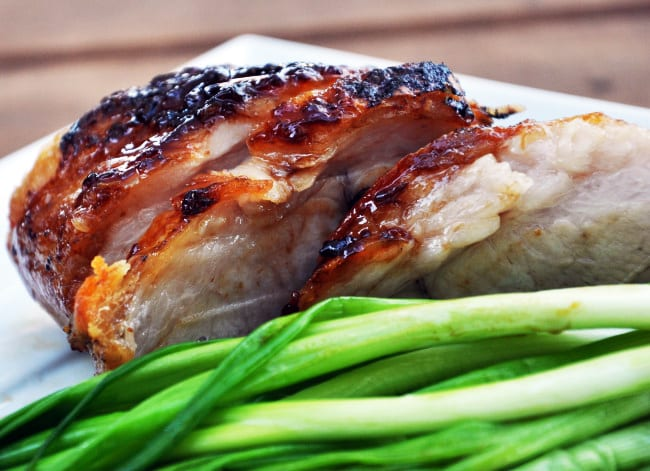 Plum-Glazed Pork Belly