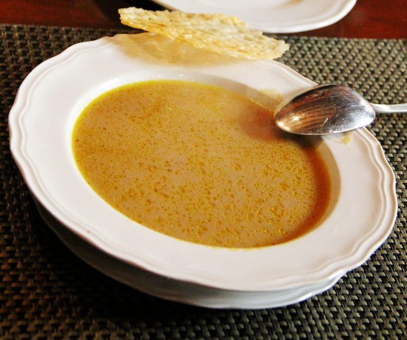Creamy Red Onion Soup