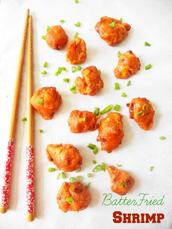 Chinese Batter Fried Shrimp