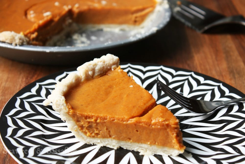 Coconut Pumpkin Pie