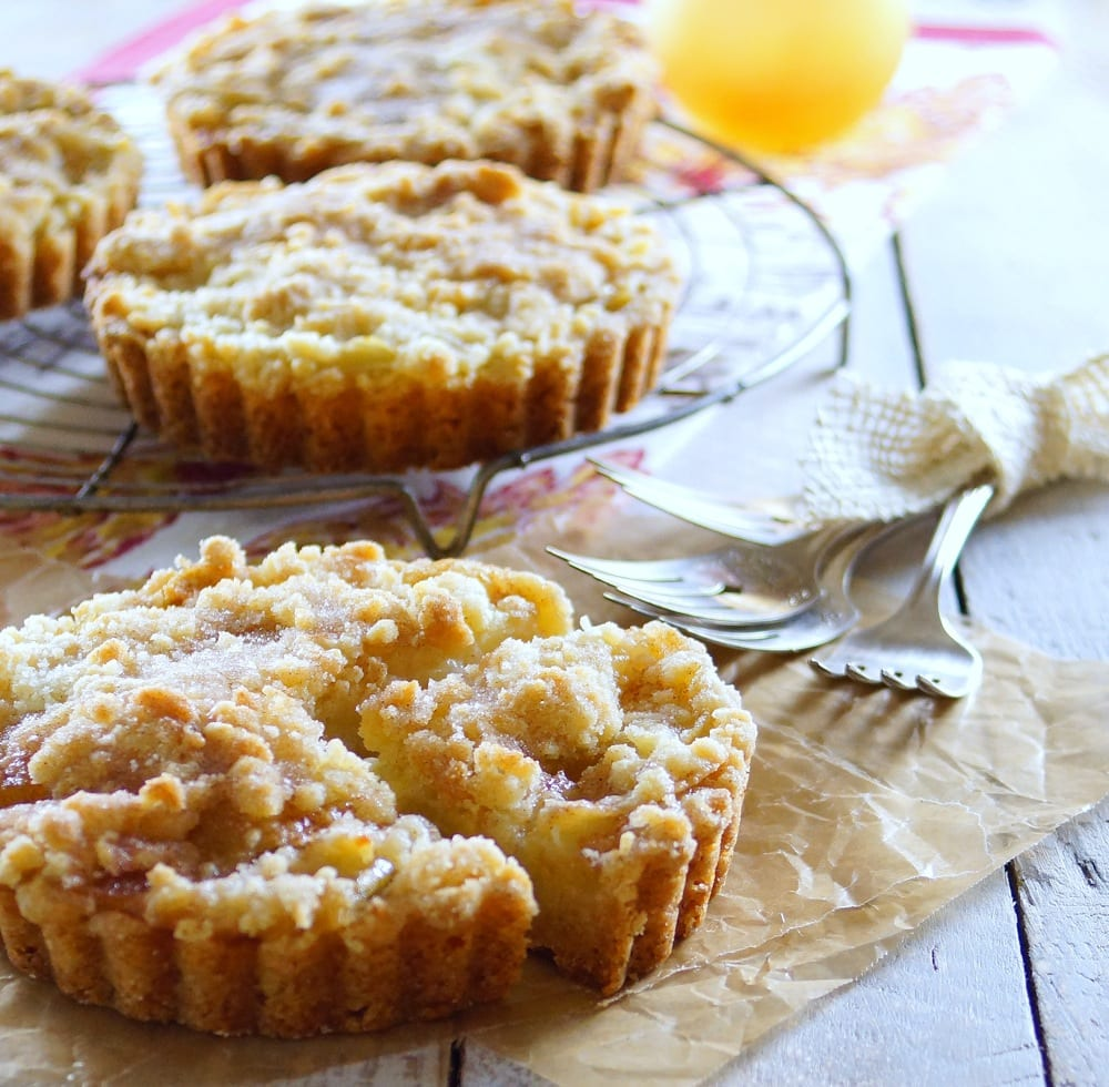 Apple Cake Tartlets