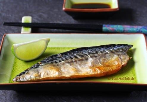 Saba Shioyaki Salt Grilled Macekrel Recipe By Shannon Lim