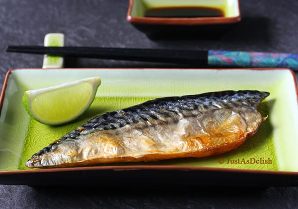 Saba Shioyaki: Salt Grilled Mackerel