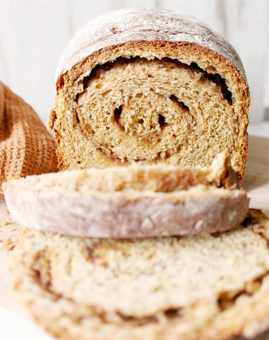 Cinnamon-Swirl Pumpkin Bread