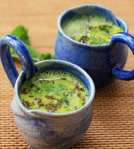 Spicy Lemon Lentil Soup
