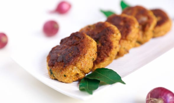 Coconut and Prawn Patties
