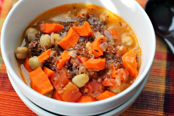 Vegetarian Quinoa Chickpea Stew