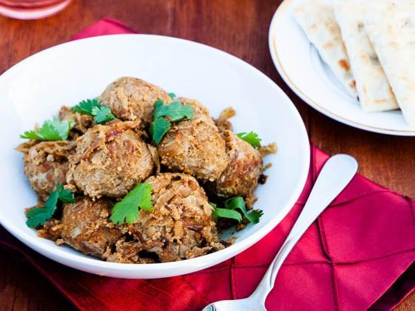 Baked Meatball Curry