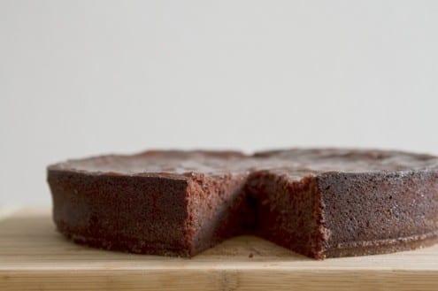 Plum and Chocolate Sacher Torte