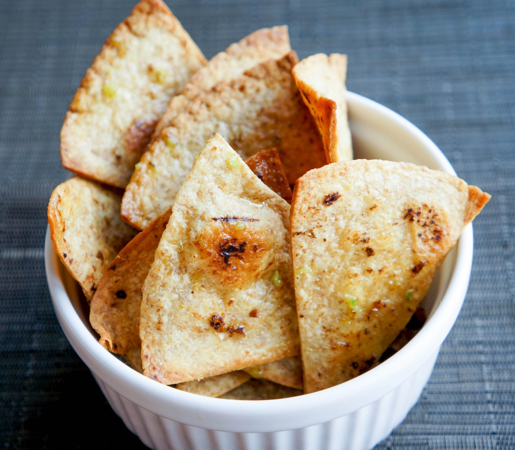 Spicy Olive Oil Tortilla Chips