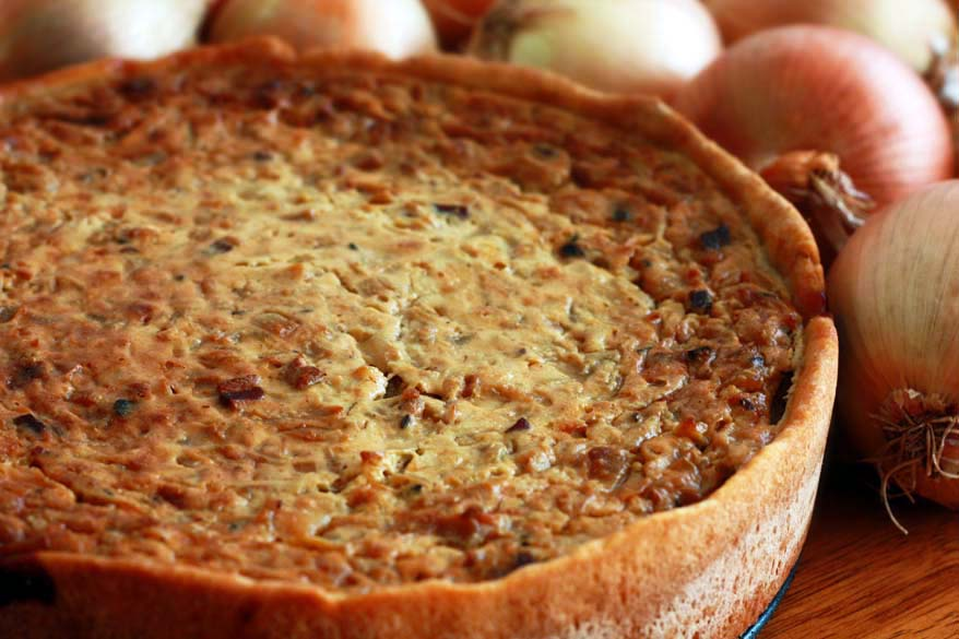 Zwiebelkuchen: German Onion Pie