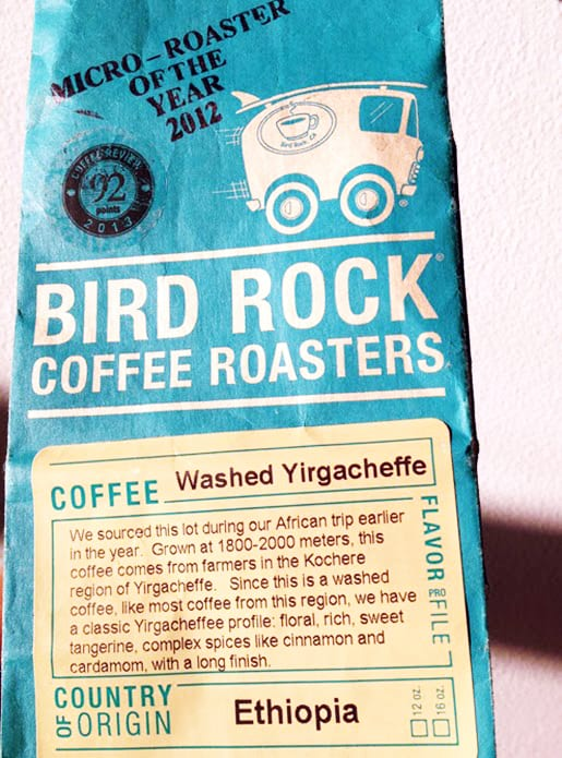 Coffee Review: Bird Rock Coffee Roasters