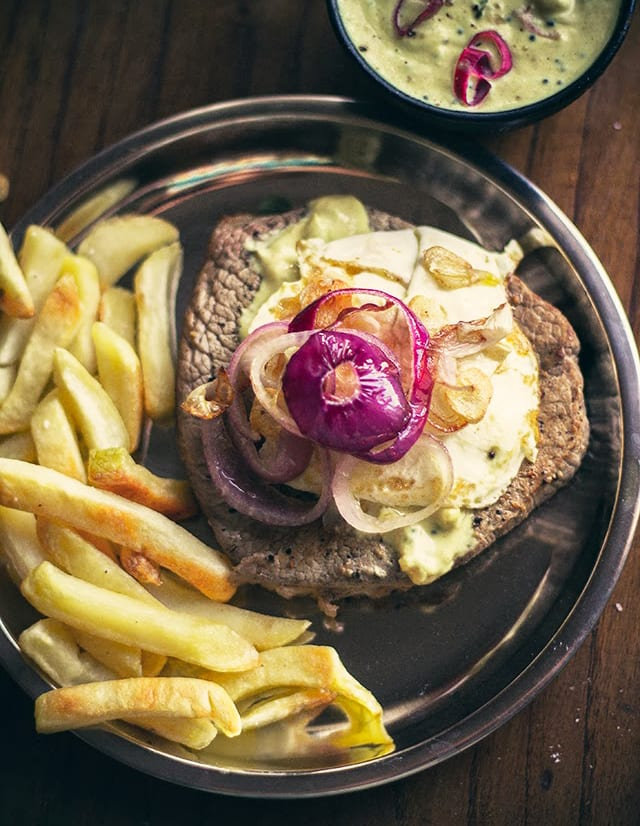 Portuguese Steak and Eggs