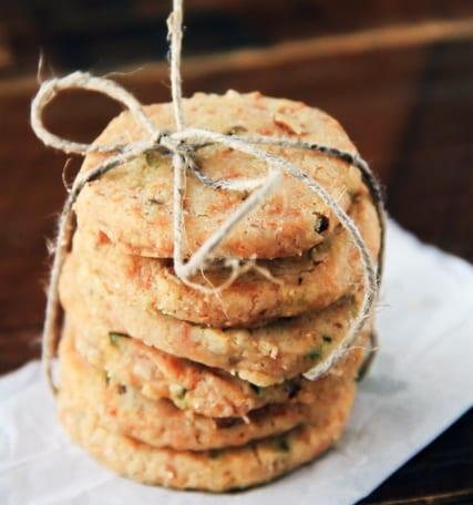 Basil, Walnut and Pecorino CrackersBasil, Walnut and Pecorino Crackers