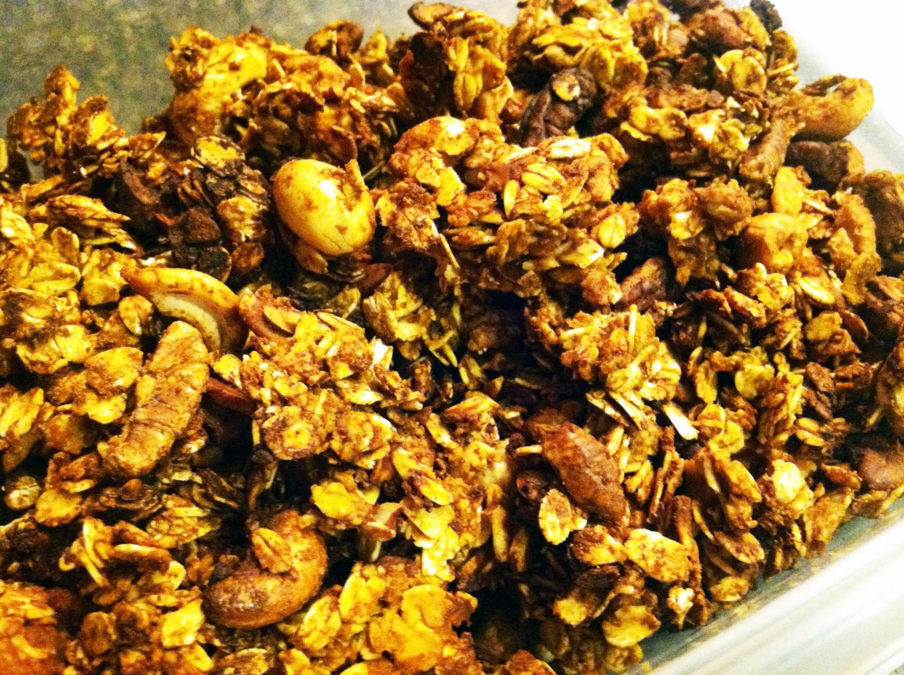 Cocoa Roasted Pumpkin Spice Granola
