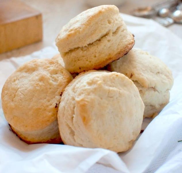 Heavy Cream Biscuits
