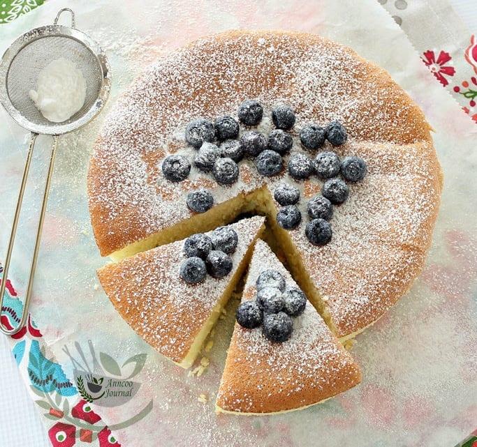 Cornflour Sponge Cake