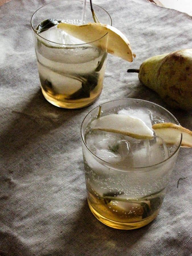 Pear-Sage Sparklers