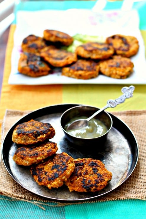 Butternut Squash and Couscous Patties
