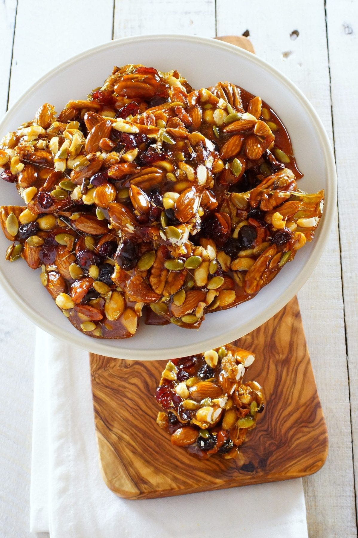 Fruit and Nut Brittle