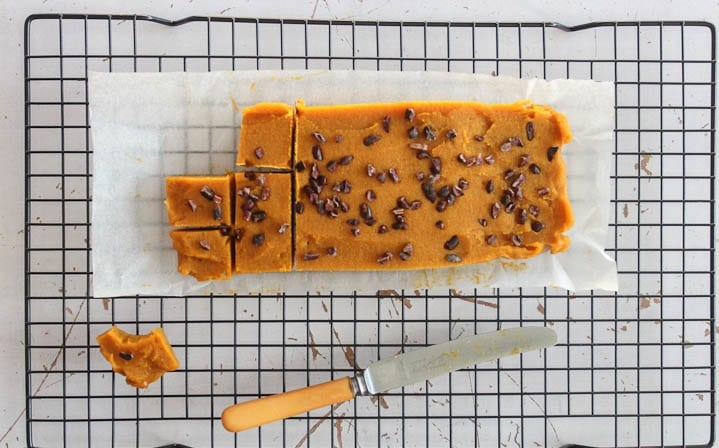 Healthy Caramel and Pumpkin Spice Fudge
