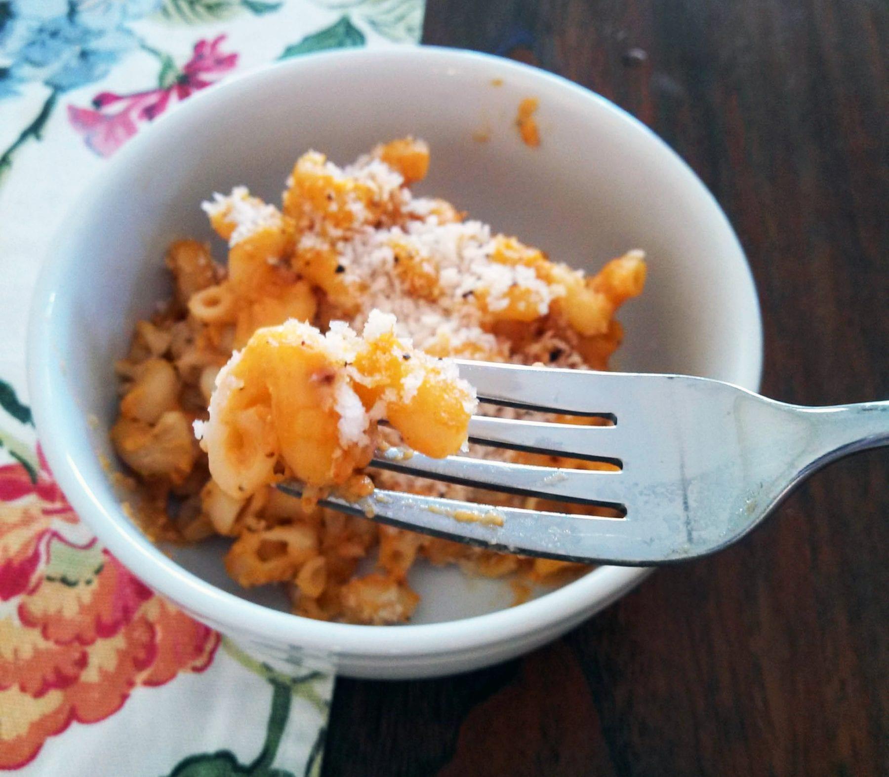 Pumpkin Mac N' Cheese