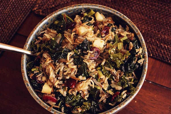 Wild Rice Vegetable Pilaf