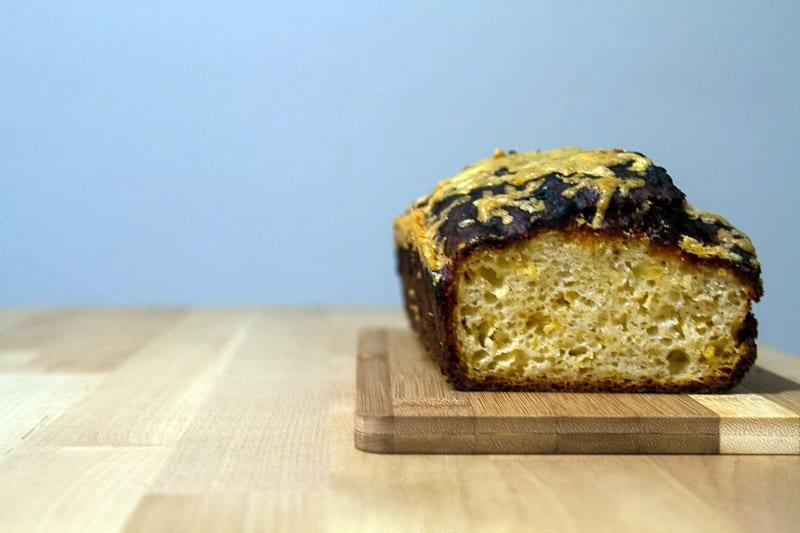 Apple-Gouda Quick Bread
