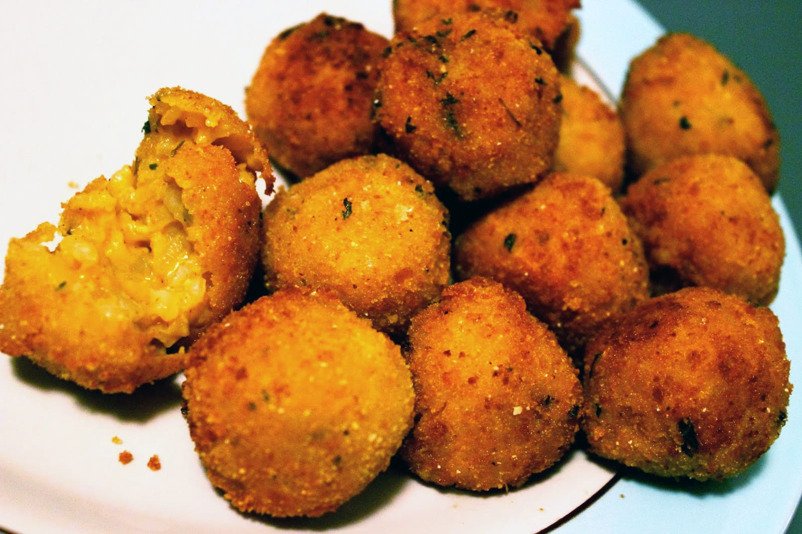 Pumpkin and Goat Cheese Arancini