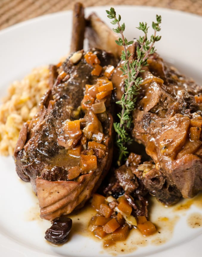 Braised Short Ribs with Berries