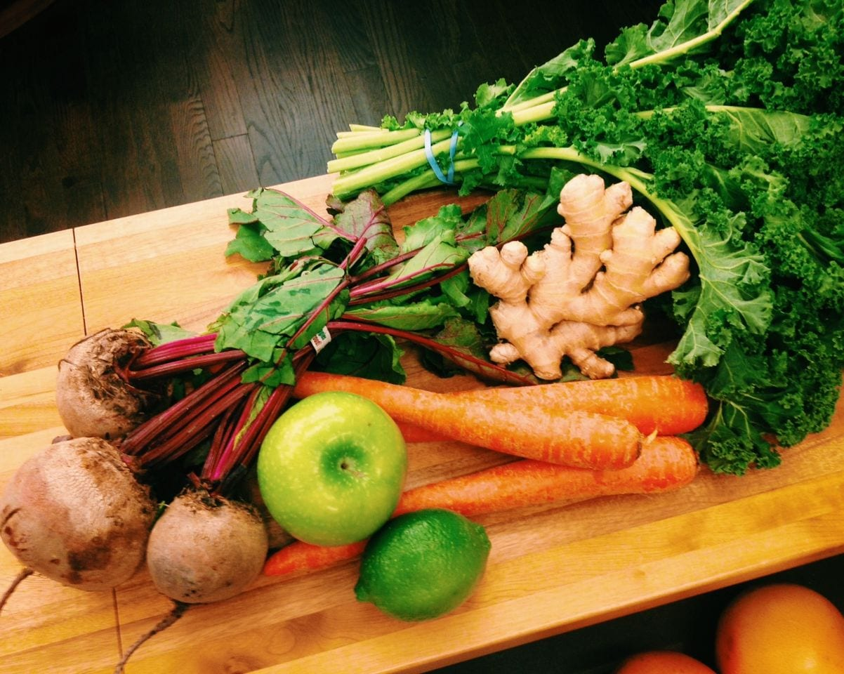 Beet, Carrot, Kale Juice