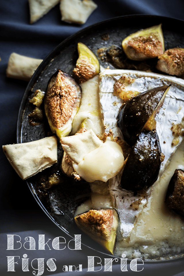Baked Brie with Figs Recipe by Rochelle Ramos