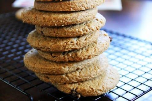 Russian Oatmeal Cookies