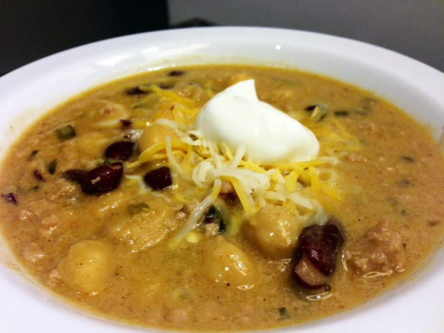 Ground Turkey and Coconut Milk Chili