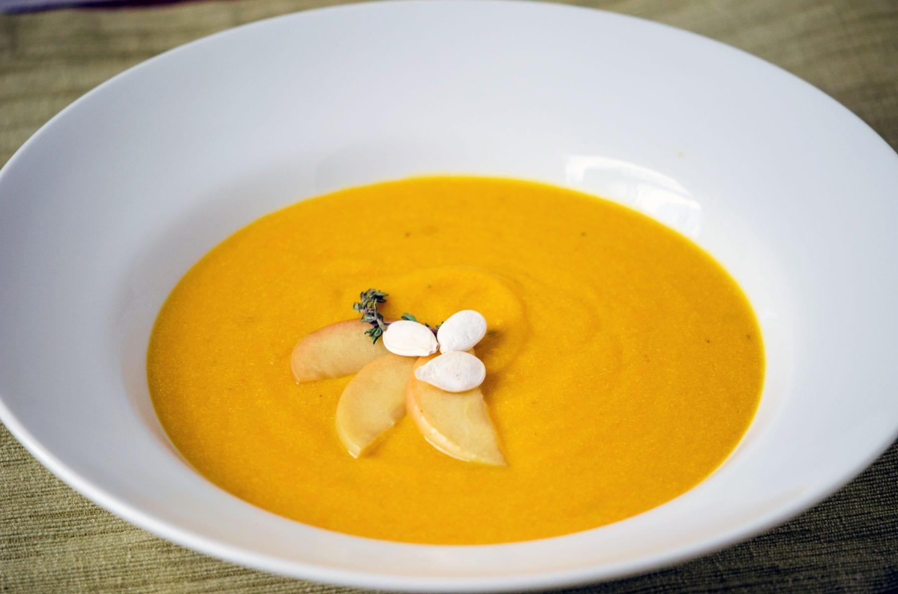 Ricotta Pumpkin Soup
