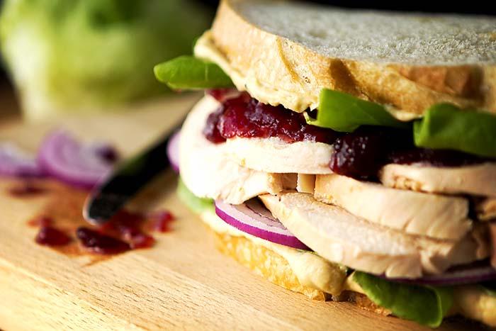 Gluten-Free Thanksgiving Leftover Sandwich