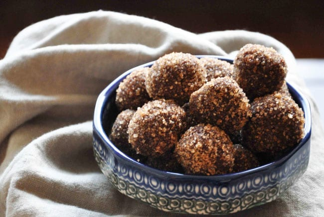 Whiskey, Chocolate and Walnut Truffles