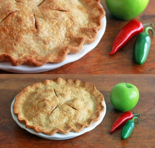 Angry Apple Pie - Jalapeño Apple Pie recipe