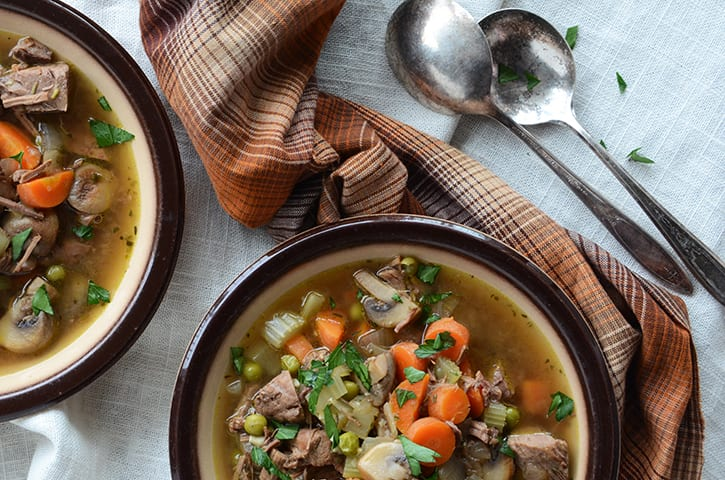 Gluten Free Pot Roast Soup