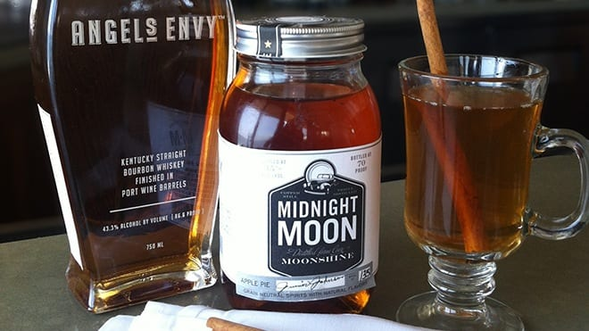 Moonshine Spiked Mulled Cider