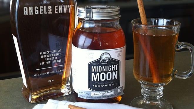 Moonshine Spiked Mulled Cider