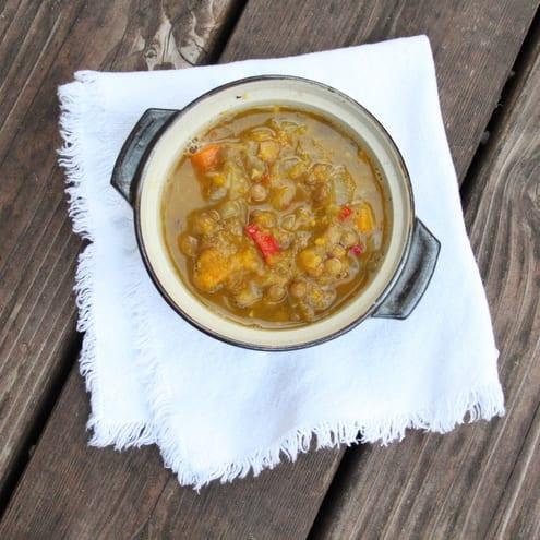 Squash Lentil Stew Recipe