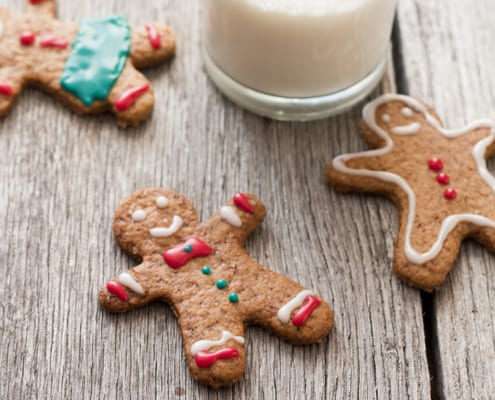 Honey Gingerbread Men Recipe