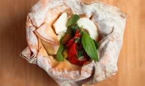 Caprese Pesto Phyllo Cups Recipe