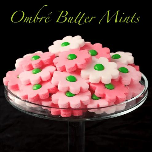 Ombre Butter mints